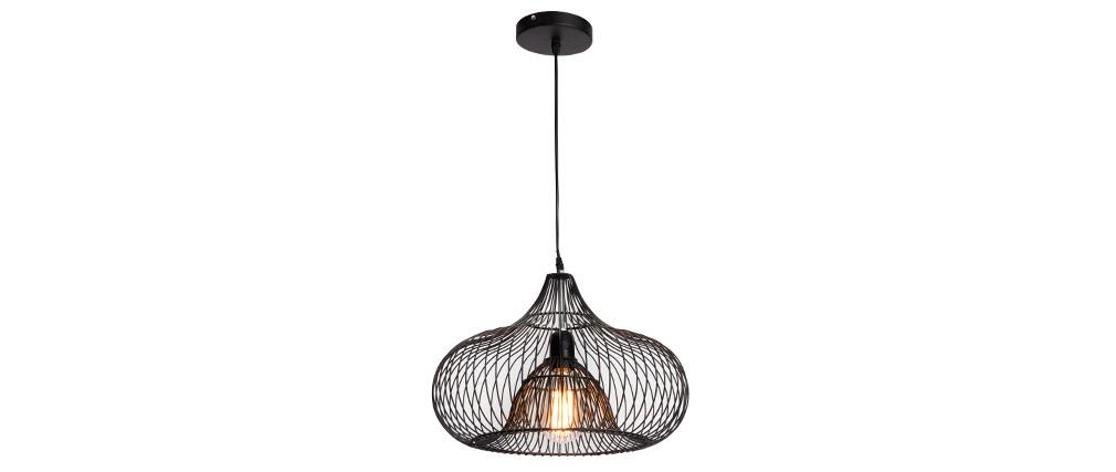 Design-Hängeleuchte COROLLE aus Metall