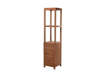 Design-Hochschrank Badezimmer Teakholz ANO