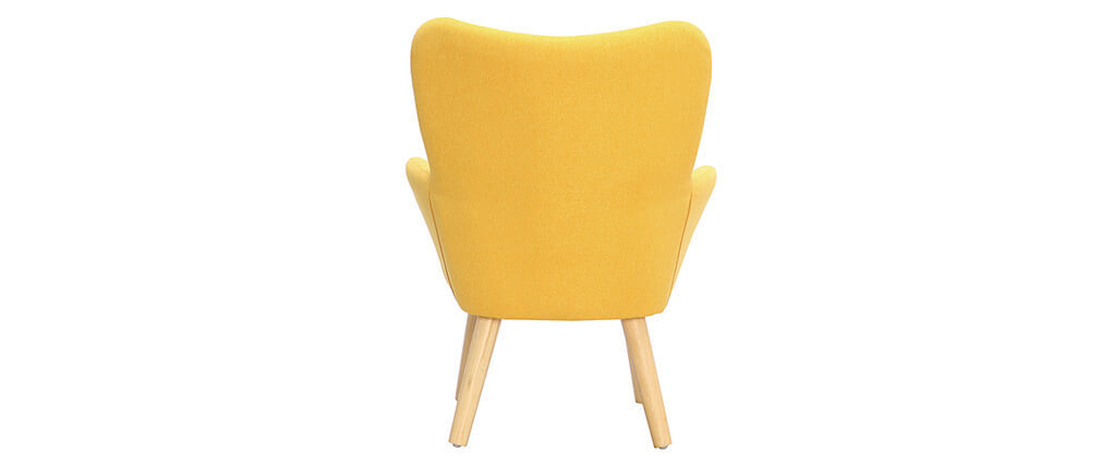 Design-Kindersessel Gelb BABY BRISTOL