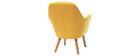 Design-Kindersessel Gelb BABY MIRA