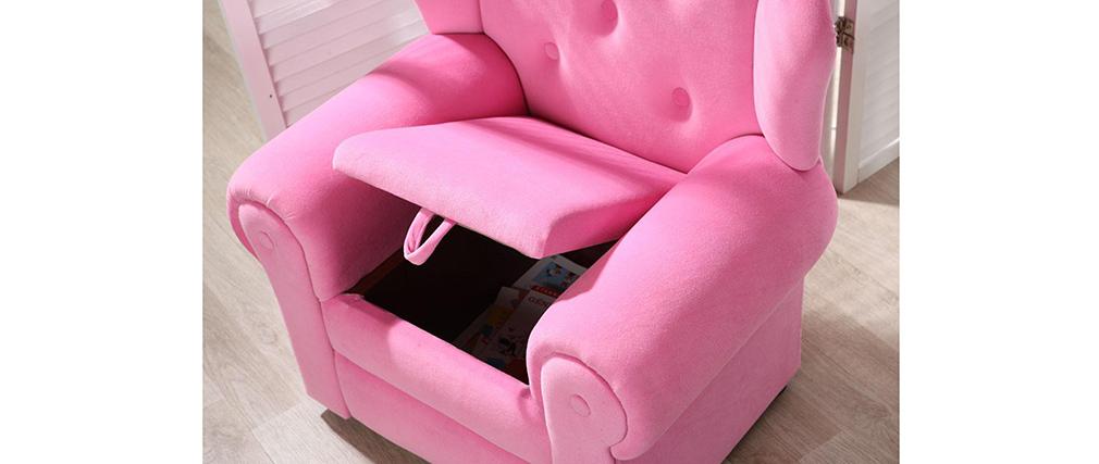 Kindersessel rosa  Design-Kindersessel Rosa AURORE - Miliboo