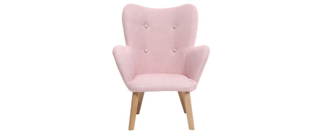 Kindersessel rosa  Design-Kindersessel Rosa BABY BRISTOL - Miliboo