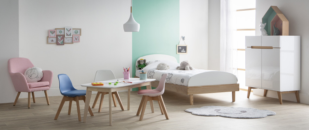 Design-Kindersessel Rosa BABY MIRA