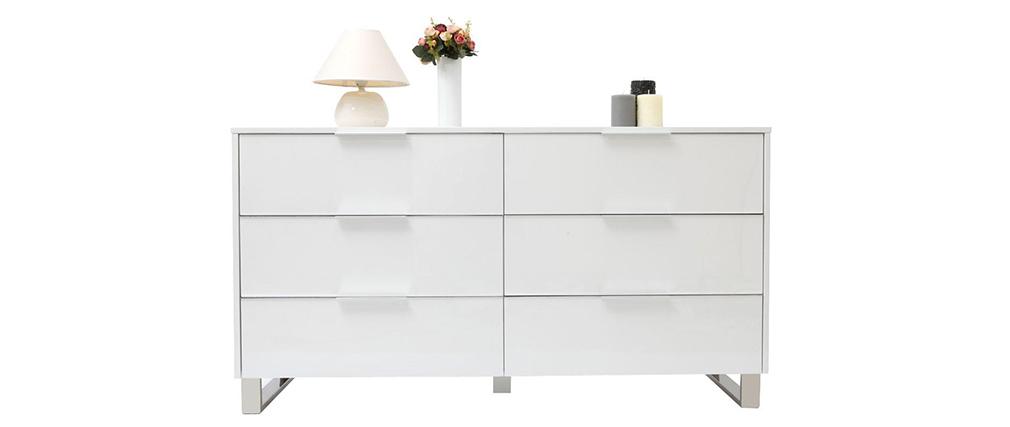 Design-Kommode HALIFAX Weiß