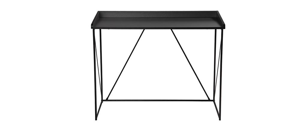Design-Konsole Grau und Schwarz WALT