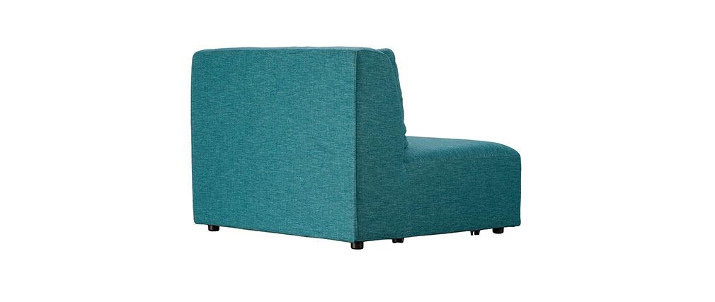 Design Modul Tiefer Sessel Blaugrün PLURIEL   Miliboo
