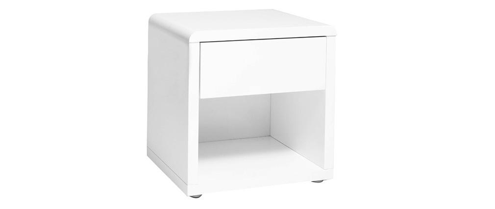 Design-Nachttisch ELIAH Weiß
