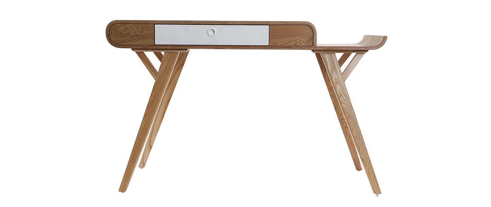 Design-Schreibtisch 120 cm Esche KYOTO