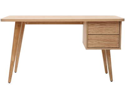 Design-Schreibtisch Eiche FIFTIES
