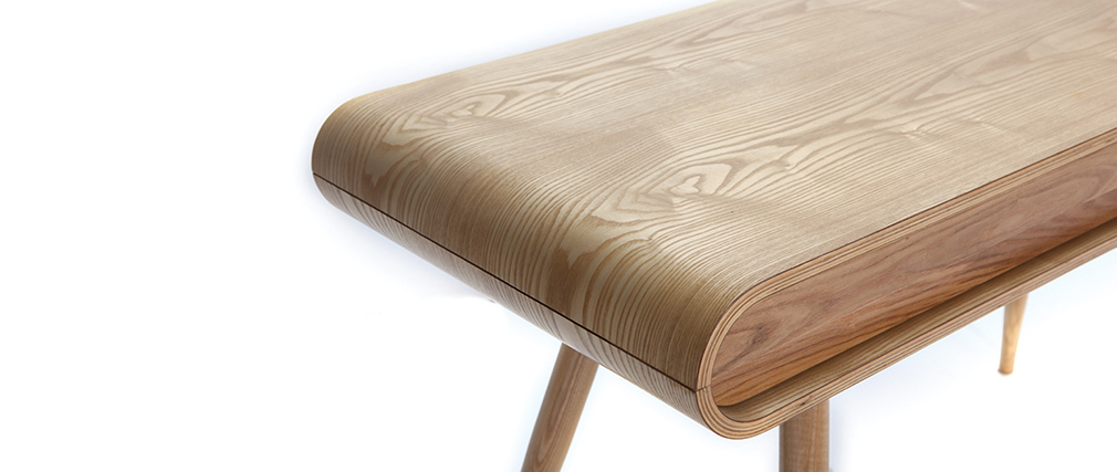 Design-Schreibtisch Esche - BJORG