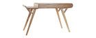Design-Schreibtisch Esche L120 cm YOTO