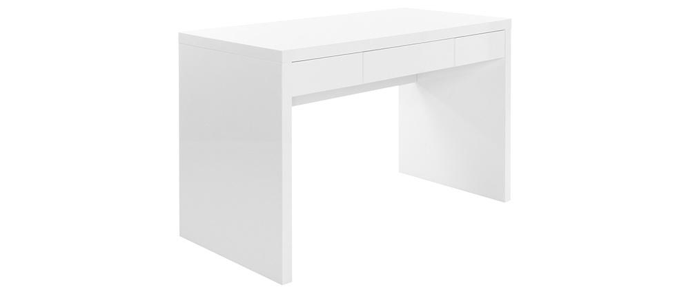 Design-Schreibtisch LACY Weiß