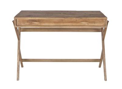 Design-Schreibtisch Massiv-Kiefer 120 cm TRIVA