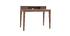 Design-Schreibtisch mit Fächern aus Nussbaumholz SEKRET