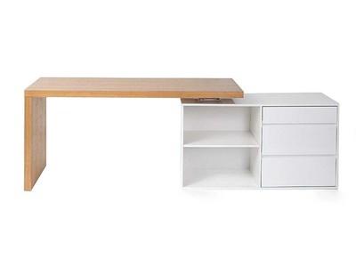 Schreibtisch weiß design  Schreibtisch kaufen mit 2 Jahre Garantie - Miliboo
