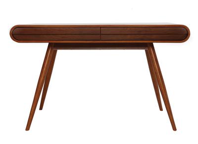 Design-Schreibtisch Nussbaum - BJORG