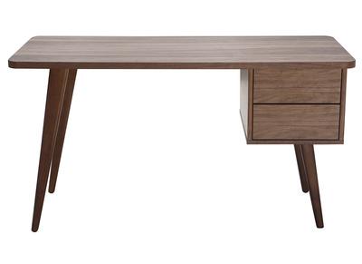 Design-Schreibtisch Nussbaum FIFTIES
