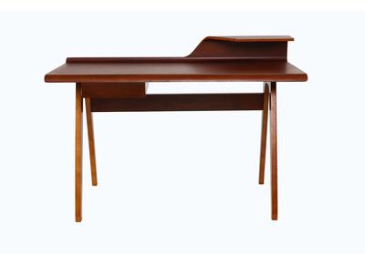 Design-Schreibtisch Nussbaum - HARALD