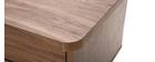 Design-Schreibtisch Nussbaum L140 cm FIFTIES