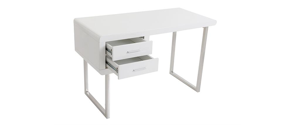 Design-Schreibtisch ROXI Weiß