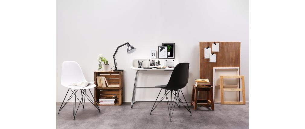 Design-Schreibtisch SMILE V2 Weiß