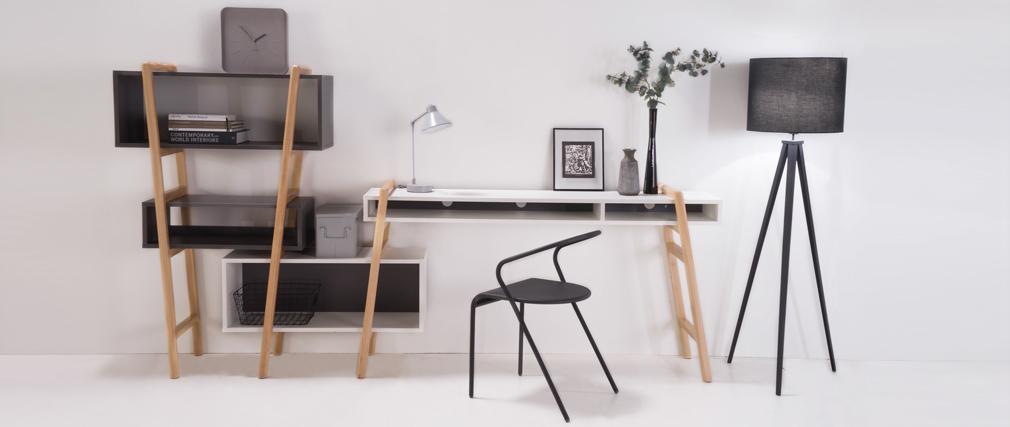 Schreibtisch design  Design-Schreibtisch WOOD TANG KOMPO 1 - Miliboo