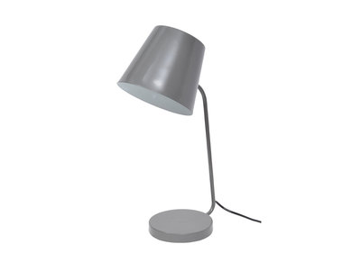 Design-Schreibtischlampe Metall Grau EAZY