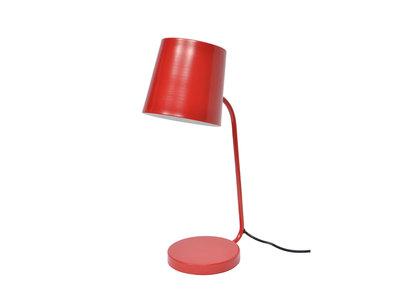 Design-Schreibtischlampe Metall Rot EAZY