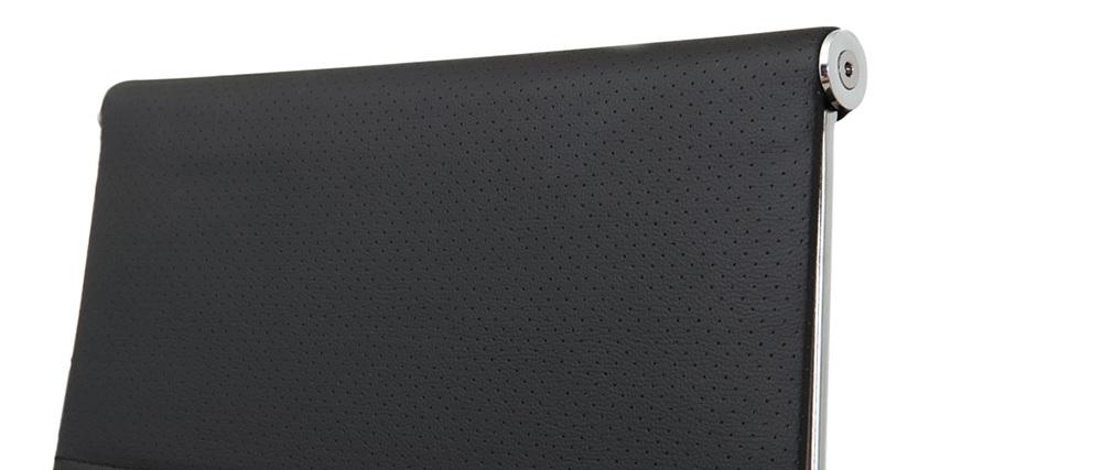 Design-Schreibtischsessel Schwarz ARNO