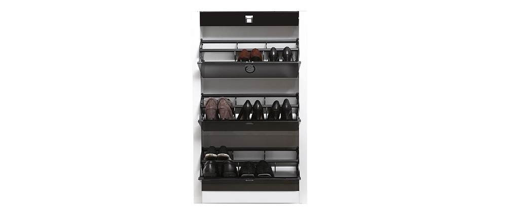 Design-Schuhschrank DEVA Schwarz
