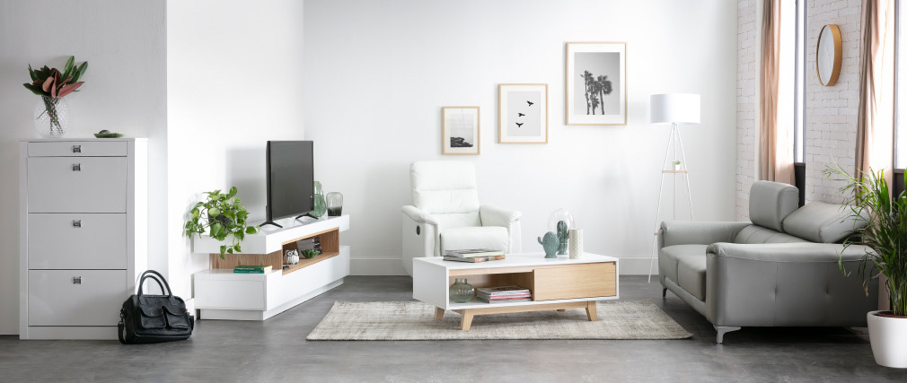Design-Schuhschrank DEVA Weiß