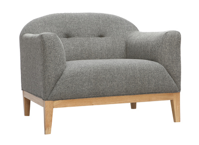 Design-Sessel Grau MARY