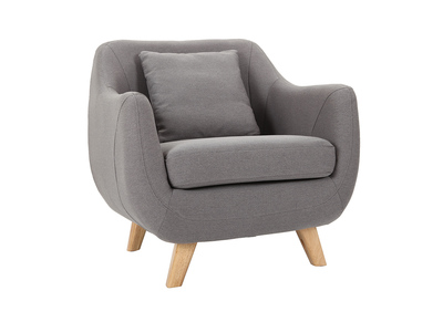 Design-Sessel Grau SKANDI