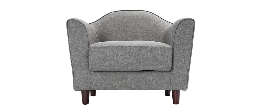 Design-Sessel Grau SOVHA