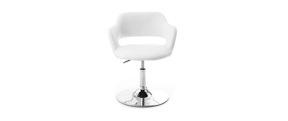 Design-Sessel JESSY Weiß