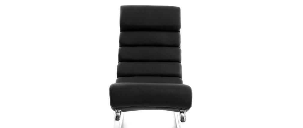 Design-Sessel Schaukelstuhl TAYLOR Schwarz