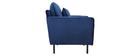 Design-Sessel Velours Blau BEKA