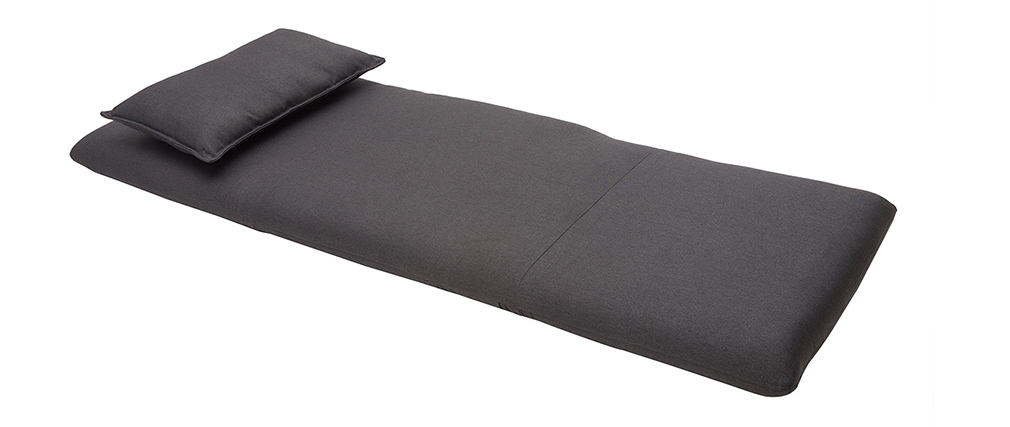 Design-Sessel verstellbar Grau Anthrazit SLEEPER