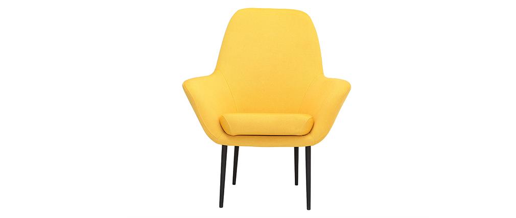 Design-Sessel zeitgenössisch Gelb OSWALD