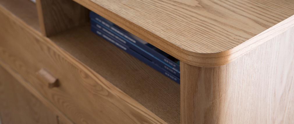 Design-Sideboard 2 Türen Esche NORDECO