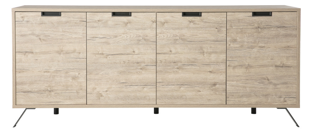 Design-Sideboard 4 Türen Eiche ORIGIN
