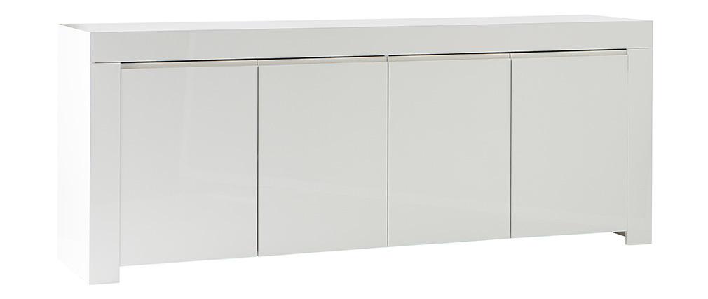 Design-Sideboard 4 Türen weiß lackiert ERIA