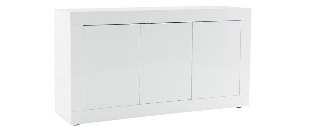 Design-Sideboard lackiert Weiß 160cm LATTE
