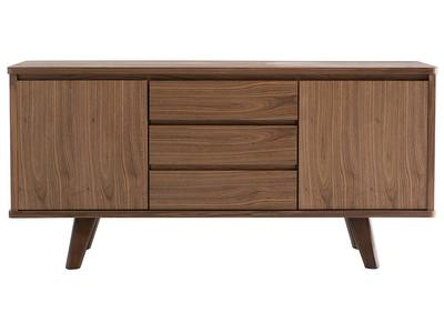Design-Sideboard Nussbaum FIFTIES