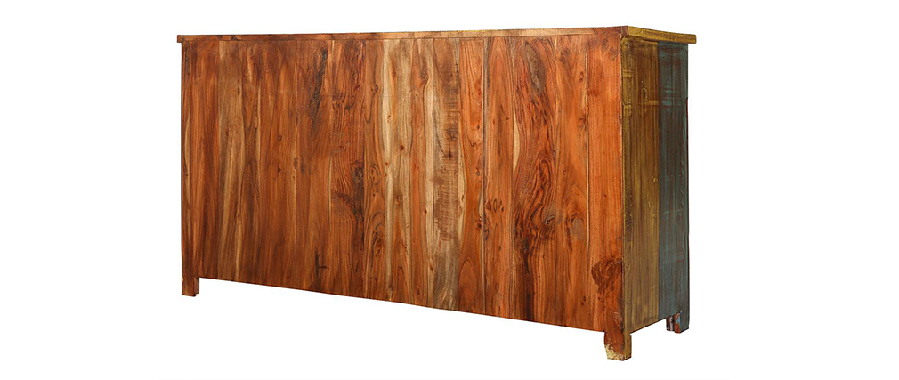 Sideboard design holz  Design-Sideboard recyceltes Holz MAYOTTE - Miliboo