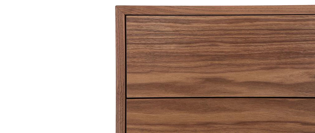 Design-Sideboard Vintage 160 cm Nussbaum MANNY