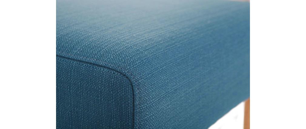 Design-Sitzkissen / Fußablage Blau OSCAR