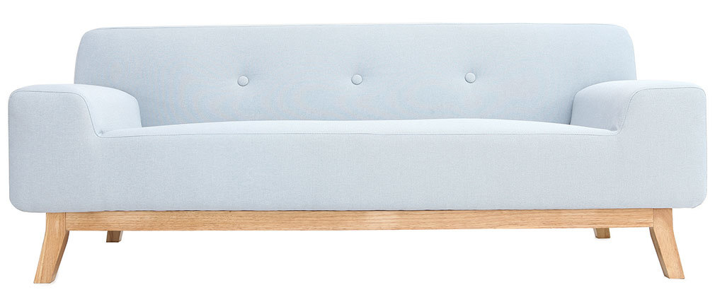 Design-Sofa 2-3 Personen Blau VILA