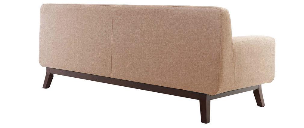 Design-Sofa 2-3 Plätze Beige VILA