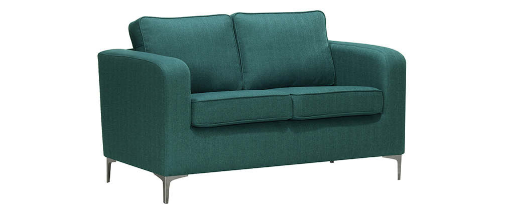 Design-Sofa 2 Plätze Blaugrün HARRY